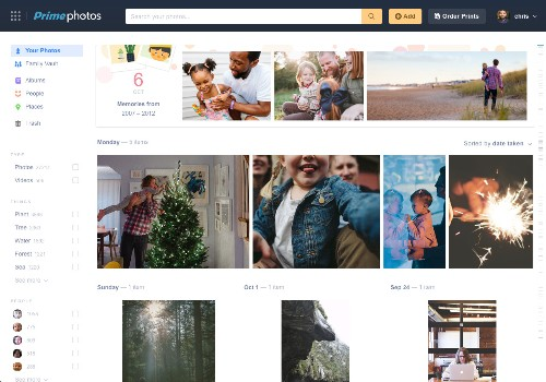 Amazon's Family Vault offers unlimited photo storage for your friends and family