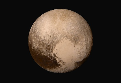 New Horizons says goodbye to Pluto with beautiful high-resolution photos