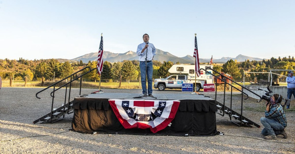 Montana's Senate race was supposed to be easy for Republicans. It's a dead heat.