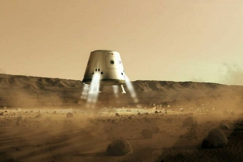 Star search: a non-profit group wants to send four people to Mars... forever