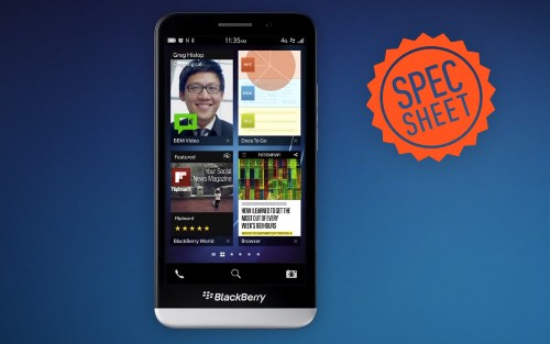Spec Sheet: does BlackBerry go big enough with the Z30?