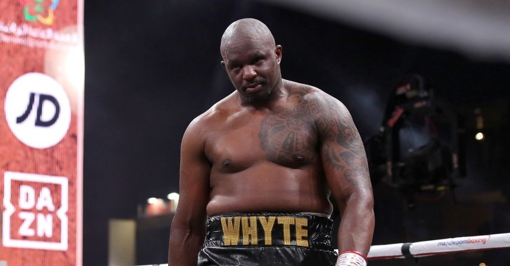 Dillian Whyte could get Tyson Fury this year if Deontay Wilder can't fight