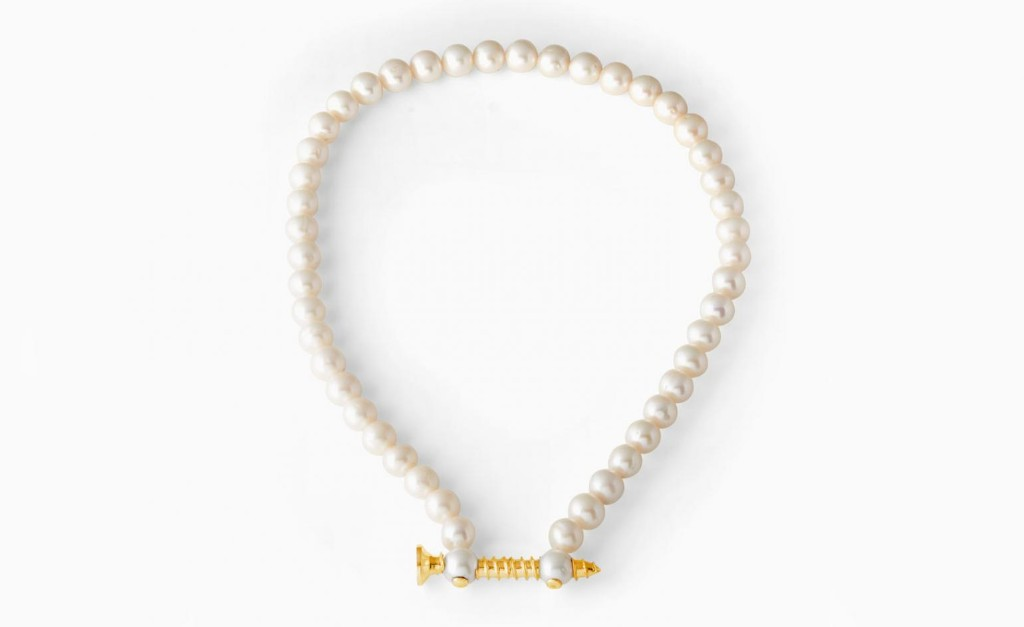 Playing it cool: pearls are having a moment