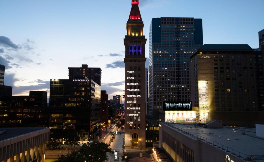 Nari Ward illuminates Denver with politically potent public art