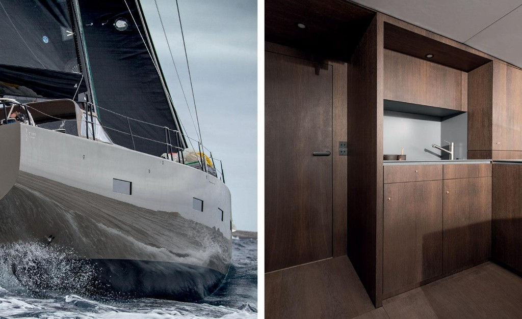 Danish architecture studio Norm brings 'soft minimalism' to the deck of a 70-foot sailing yacht