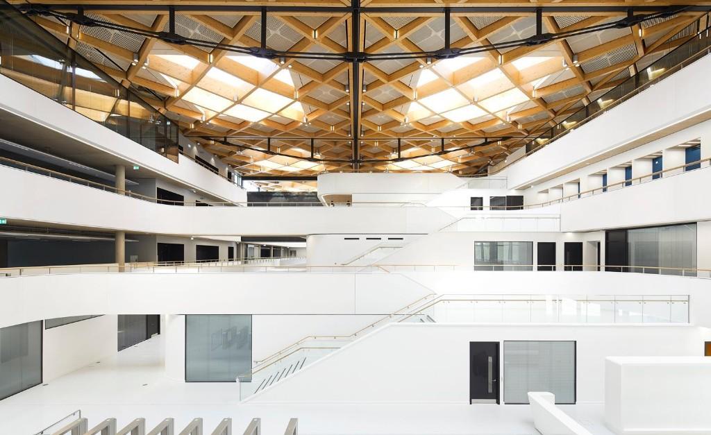 NAIC's architectural facility in England's car-making heartland