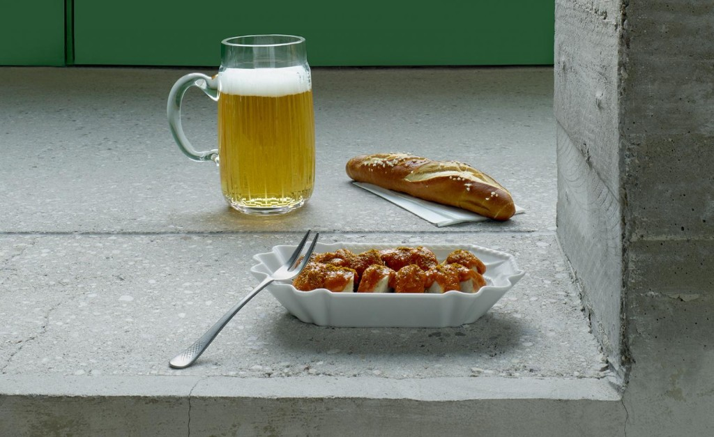 Streetfood favourite Currywurst has been given a home makeover