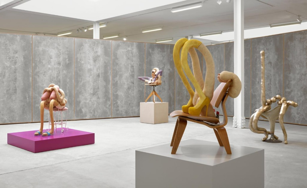 Sarah Lucas' new sculptures have us on the edge of our seats
