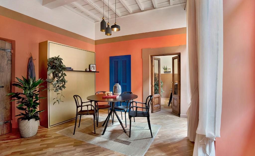 Francesca Venturoni's Rome apartment renovation celebrates earthy tones