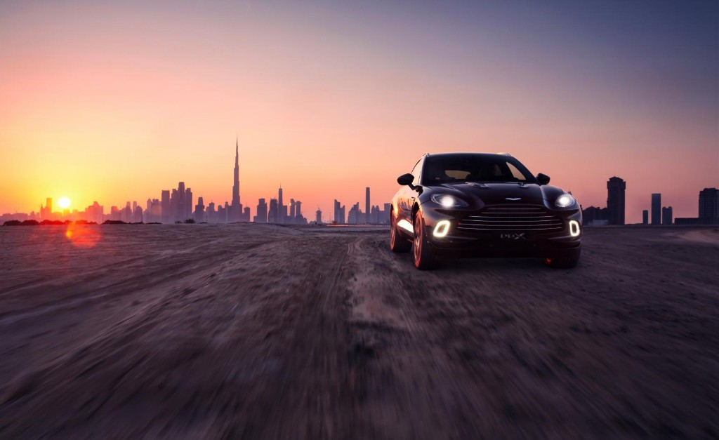 Aston Martin heads in a new direction with first SUV