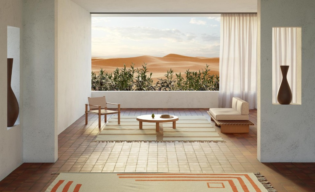 Beni Rugs' latest campaign merges Bauhaus with Brazilian modernism