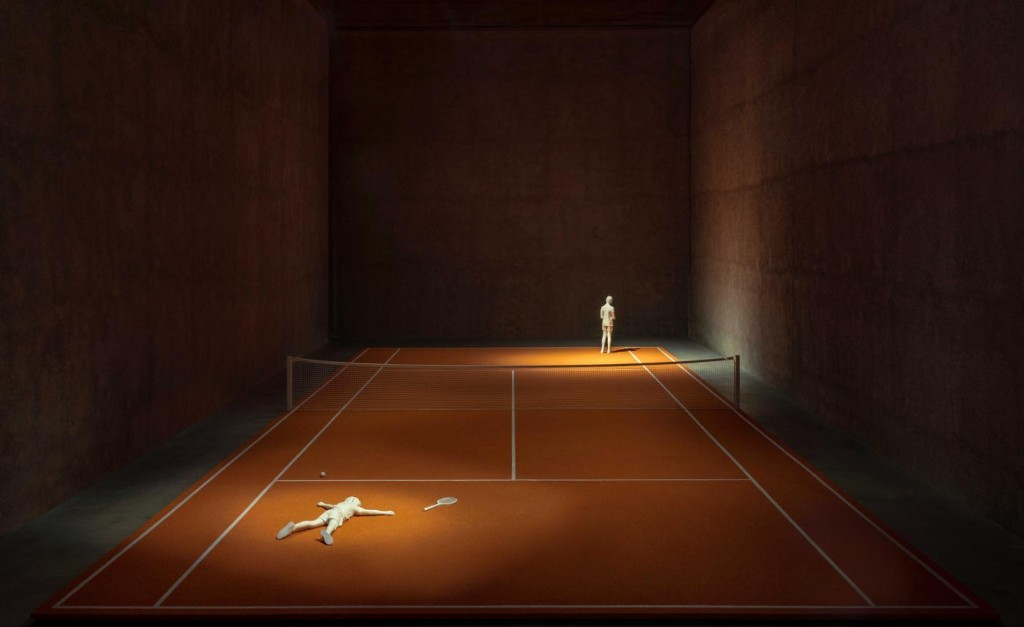 Life lessons from Elmgreen Dragset's tennis court