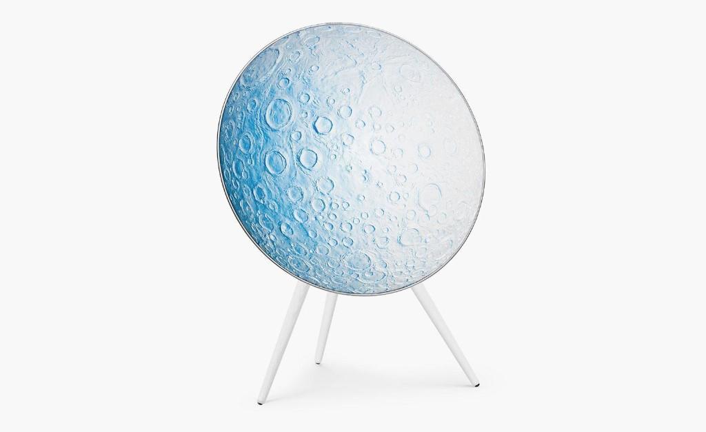 Daniel Arsham's Bang Olufsen moon speaker sets the atmosphere