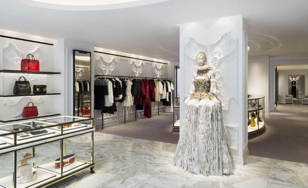 Alexander McQueen's London flagship store reopens after an overhaul by David Collins Studio