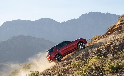 Hit the road: Land Rover Discovery Sport loves both mud and tarmac