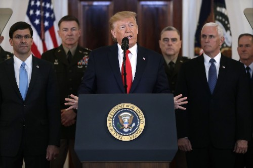 Five takeaways from Trump's garbled speech on Iran