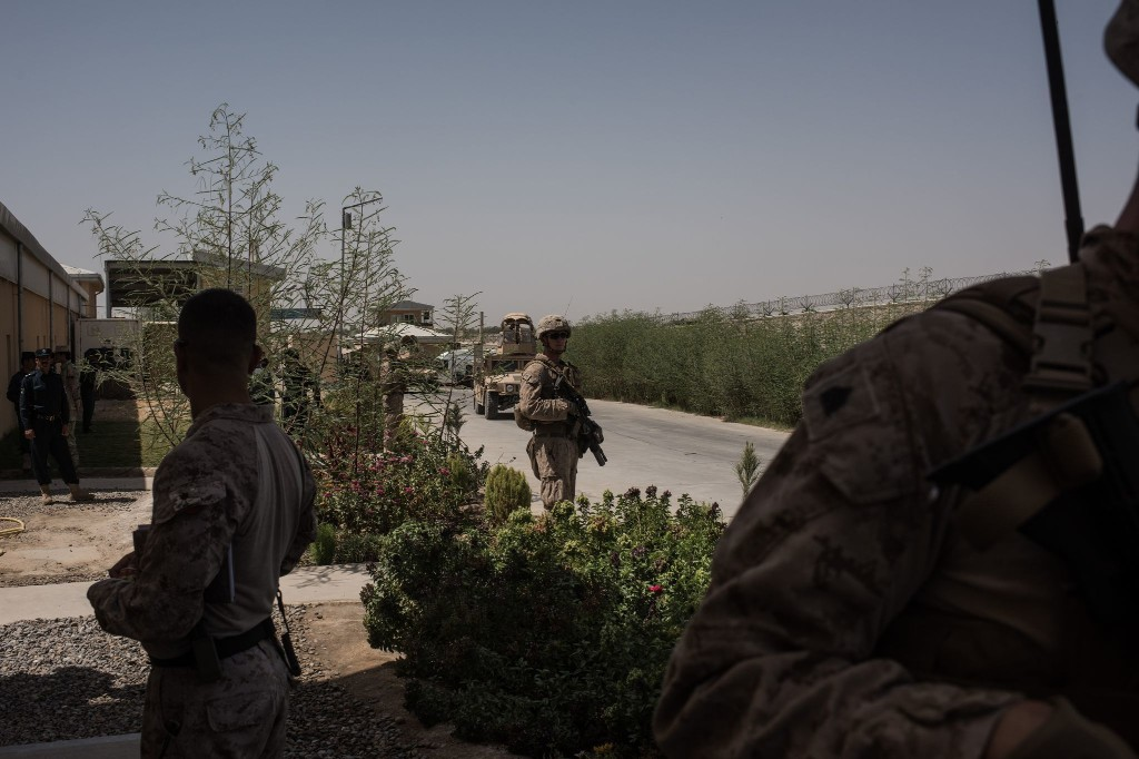 The United States has closed at least 10 bases around Afghanistan. But drawdown details remain murky.