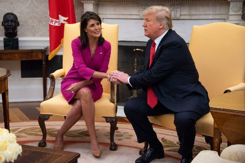 Nikki Haley reveals how Republicans will absolve themselves of Trump