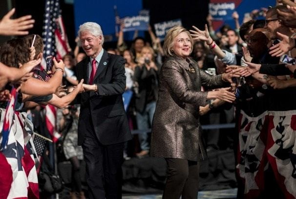 Clinton is the insider who's surviving in the year of the outsider