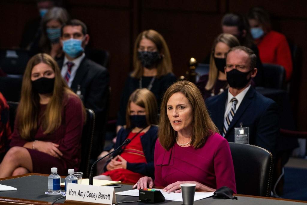 Barrett confirmation hearing day two: Barrett declines to call landmark abortion decision 'super-precedent'