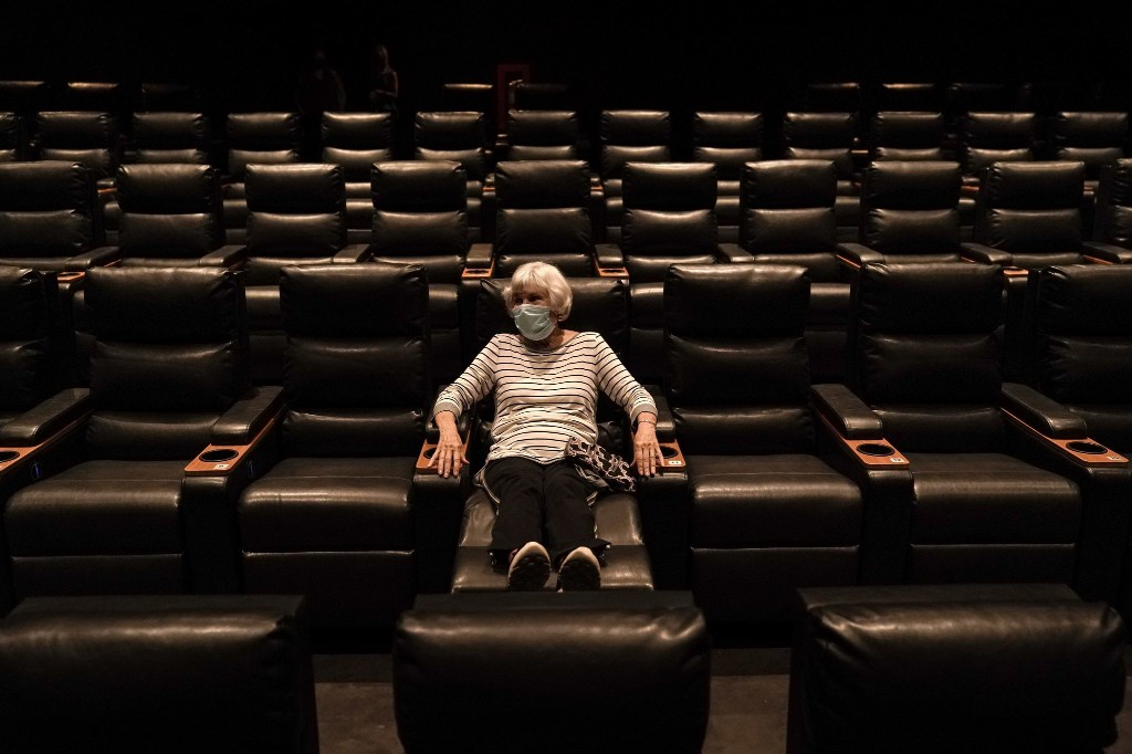 Be prepared to say goodbye to movie theaters