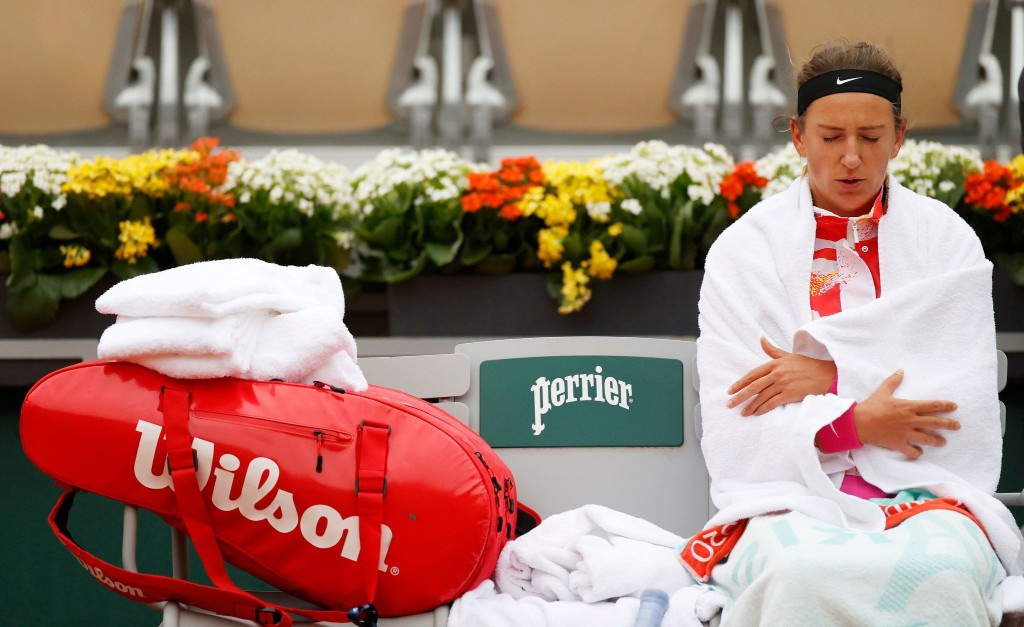 Jackets, tights and Rafa in sleeves: Welcome to the cold, dreary 2020 French Open