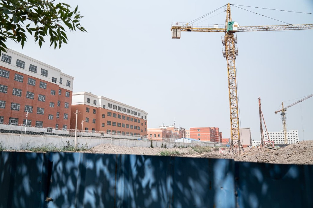 China is building vast new detention centers for Muslims in Xinjiang