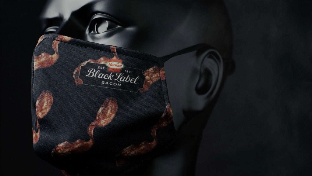 Bacon- and chicken-scented masks are here and, really, you shouldn't be surprised