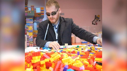 Lego just released audio and Braille instructions. They did it because of a blind man who never gave up.