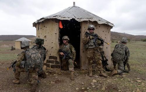 Pressure builds against the Pentagon as it weighs reducing troop numbers in Africa