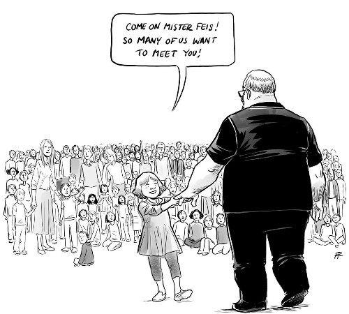 This single cartoon about school shootings is breaking people's hearts