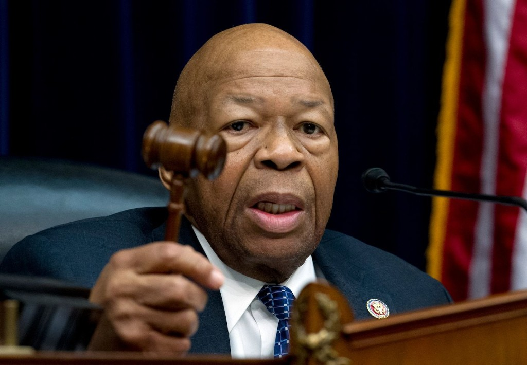 Elijah Cummings: The White House hasn't turned over a single piece of paper to my committee