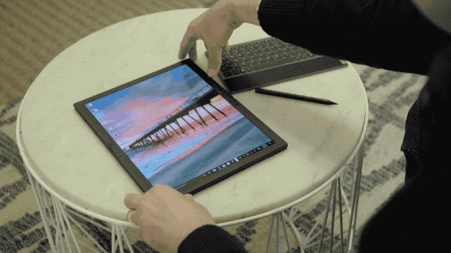 First Look: Now laptop screens fold, too, with this ThinkPad from Lenovo