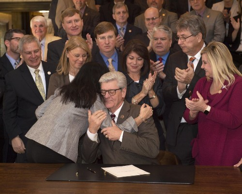 GOP governor signs law that bans abortion before some women even know they're pregnant