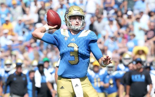 UCLA's Under Armour deal has QB Josh Rosen wondering why he's an 'amateur'