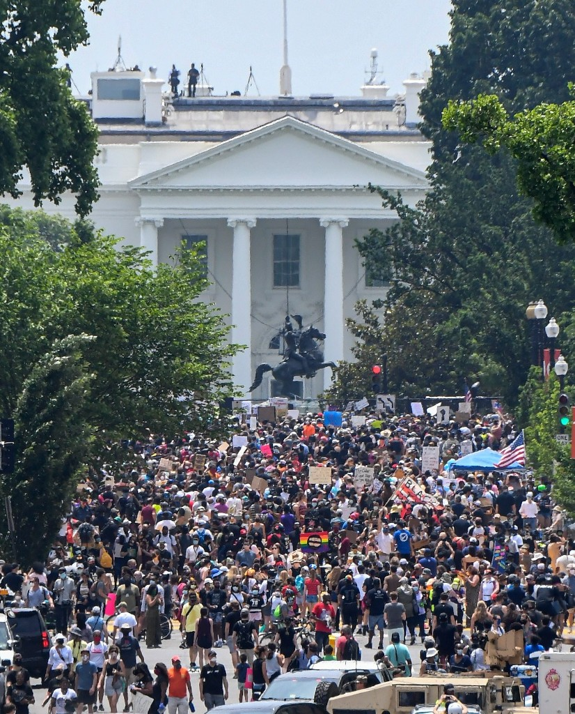 Protesters gather for massive day of rallies in D.C.