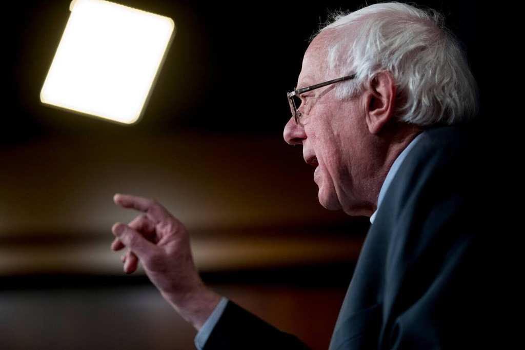 Bernie Sanders's 2020 policy agenda: Medicare for All; action on climate change; $15-an-hour minimum wage