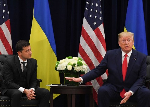 People died while Trump played games with Ukraine's military aid
