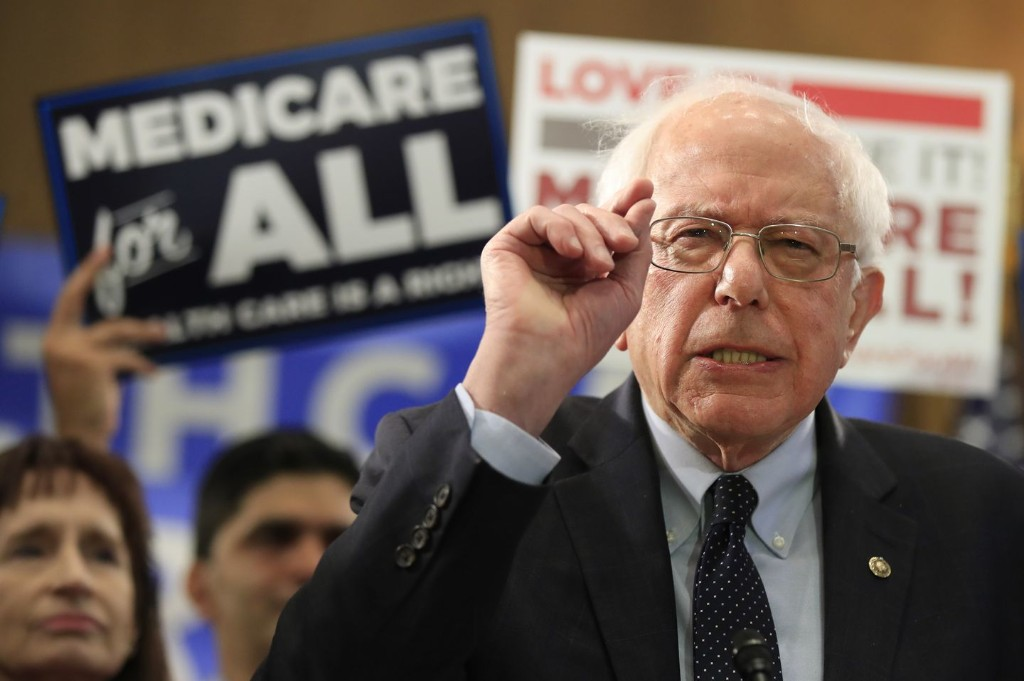 Here's that Medicare-for-all study Bernie Sanders keeps bringing up