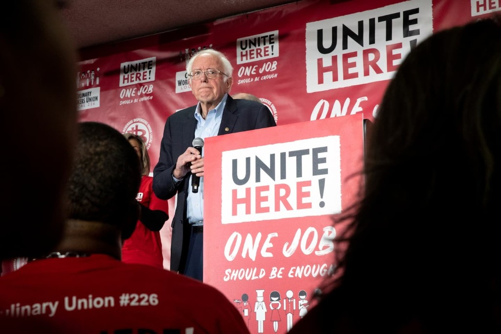 Why Bernie Sanders's fight with a Nevada union really matters