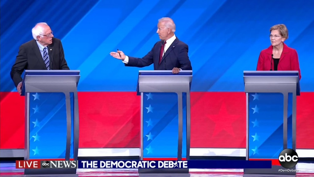 Winners and losers from the third Democratic debate