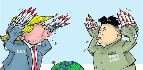 How Trump and North Korea are skewered by the 'fire and fury' of cartoonists