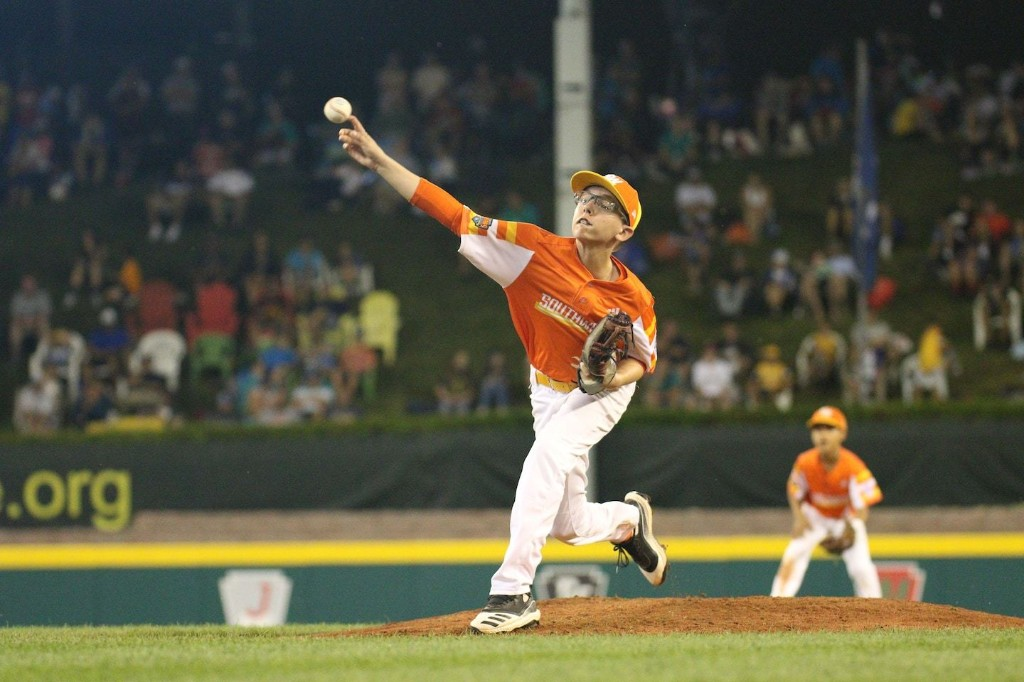Curveballs, once considered too risky for young arms, rule at the Little League World Series