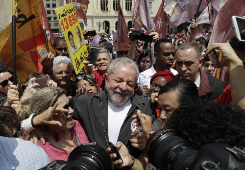 He was the 'most popular politician on Earth.' Now Brazil's Lula could go to jail.