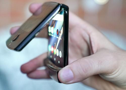 Motorola's Razr flip phone is back as a folding-screen smartphone, for $1,500