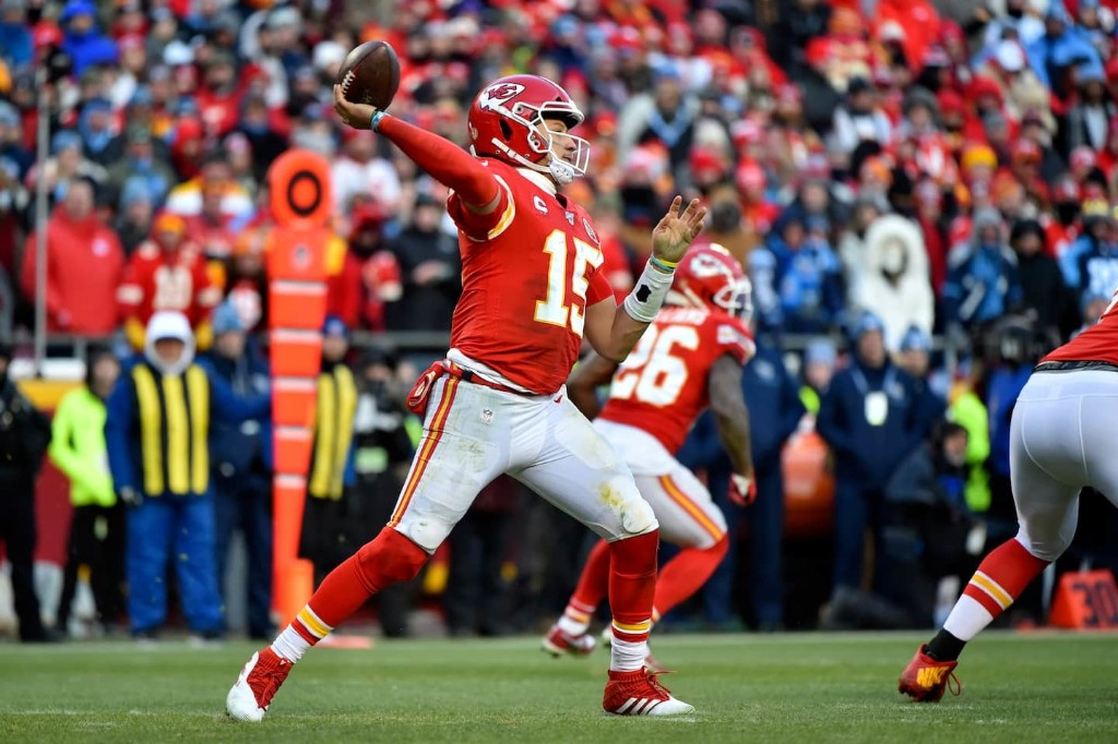 Patrick Mahomes had too much arm and too much heart to be denied a Super Bowl berth again