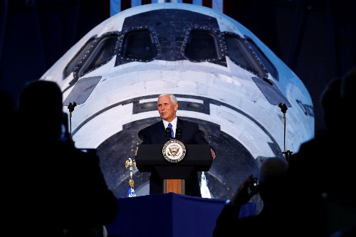 Vice president to unveil detailed plan Thursday to establish Trump's Space Force