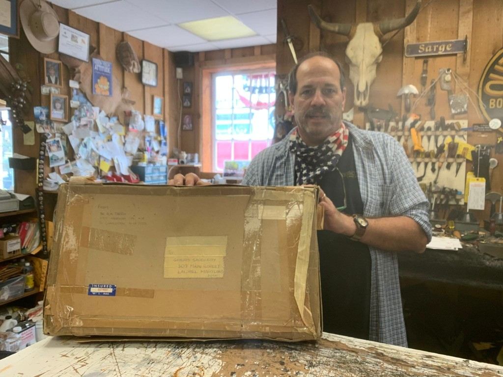 Package with 1979 postmark delivered to Md. suburb: 'It only took the post office 41 years'