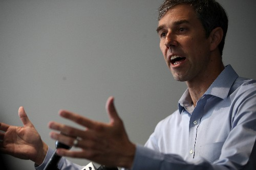 Beto O'Rourke says Senate's top Democrat has accomplished 'absolutely nothing' on gun control