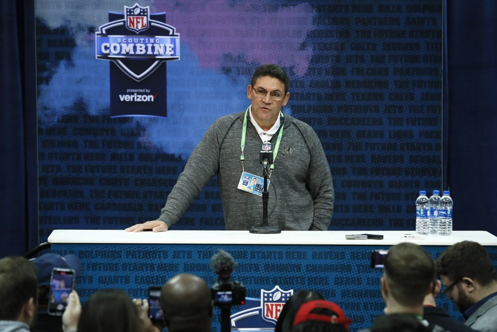 Ron Rivera's tenure with the Redskins will be shaped largely by his first draft pick